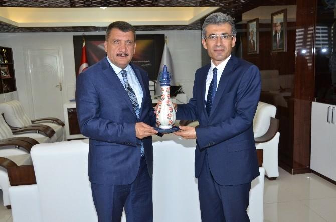 Başsavcı Alper, Başkan Gürkan'a Veda Ziyaretinde Bulundu
