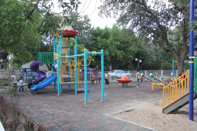 Burhaniye'de Ören Sahiline Yeni Park