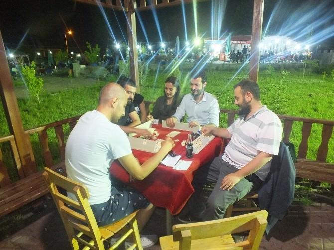 İlçenin En Büyük Sosyal Mekânı Ramazanda Dolup Taşıyor