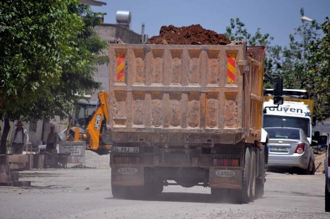 Site Etrafına Dökülen Harfiyat Mahalle Sakinlerinin Tepkisini Çekti