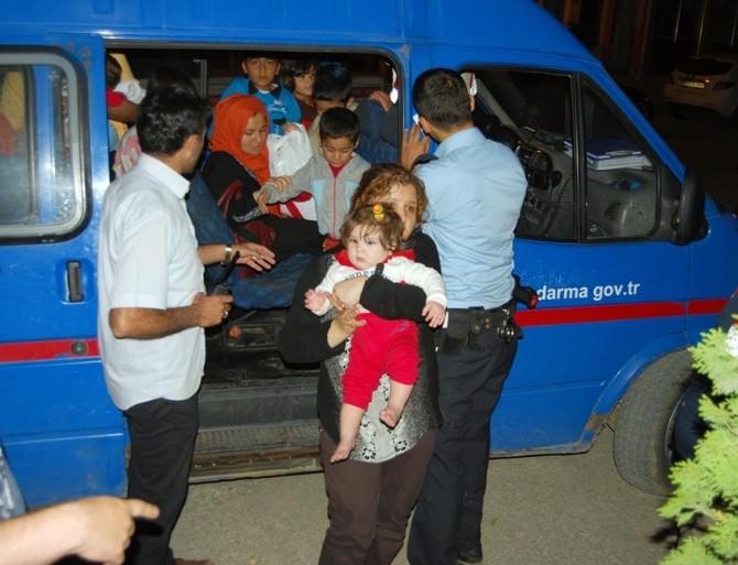 (Özel Haber) Tekirdağ'da 33 Kaçak Göçmen Yakalandı