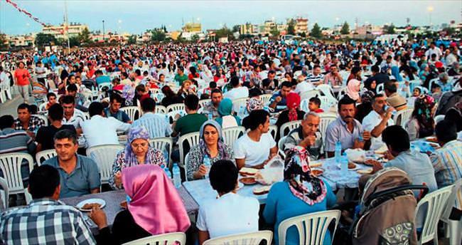 Aksu'da Ramazan buluşması