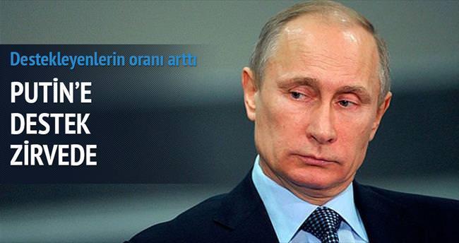 Putin'e destek zirvede