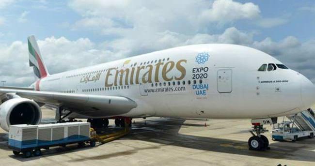 Dubai yolcu uçağı Kolombo'ya acil iniş yaptı