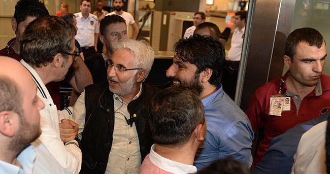 İsrail'de gözaltına alınan gazeteciler İstanbul'da