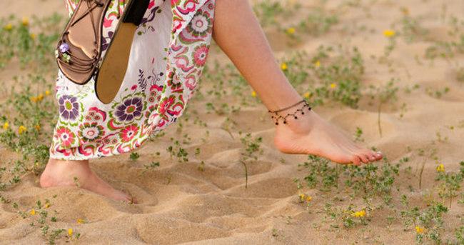 Yalın ayak yürümeyin