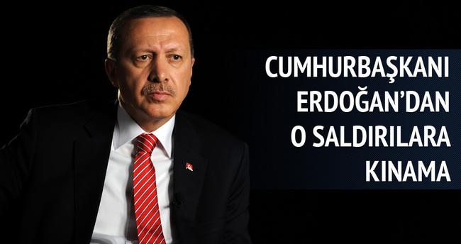 Cumhurbaşkanı Erdoğan'dan kınama