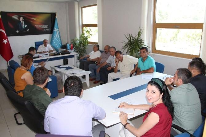 Aksu'da İş Sağlığı Güvenlik Kurulu Toplandı