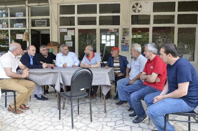 Başkan Öztürk'ten Selden Etkilenen Mahallelere Geçmiş Olsun Ziyareti