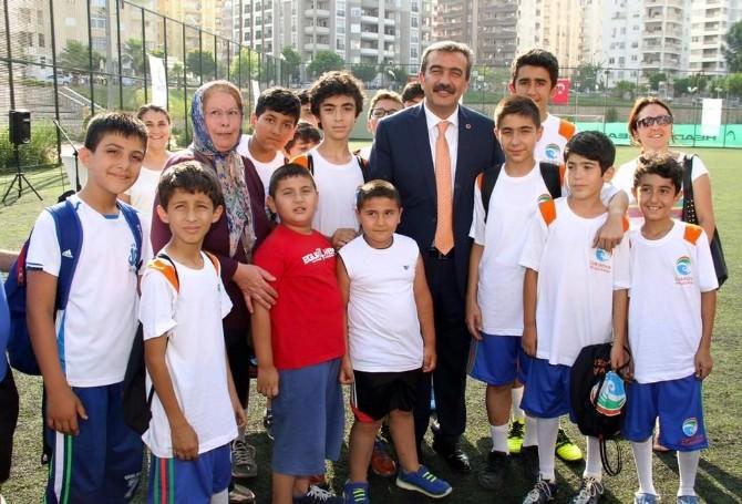 Çukurova Belediyesi Yaz Spor Okulu Başladı