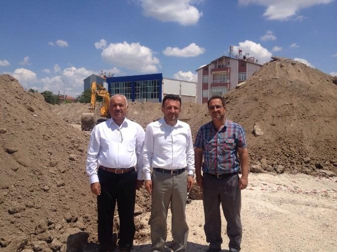 Çumra'da Gençlik Merkezimizin Yapımına Başlandı