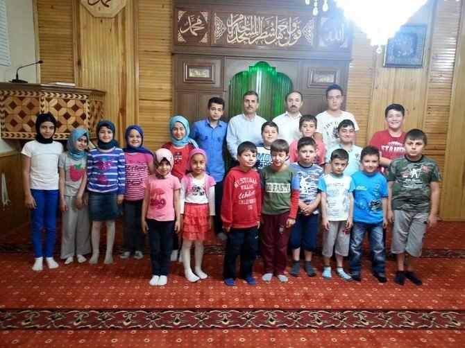 Safranbolu'da Yaz Kur'an Kursları Devam Ediyor