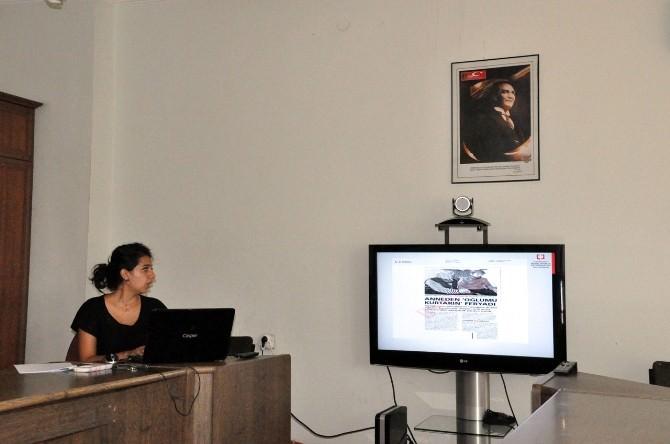 Tunceli'de Gazetecilere Uyuşturucuyla Mücadele Eğitimi