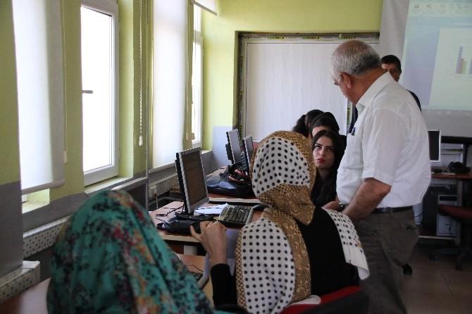 Varto Hem Ve İş-kur Müdürlüğü Bilgisayar Kursu Açtı