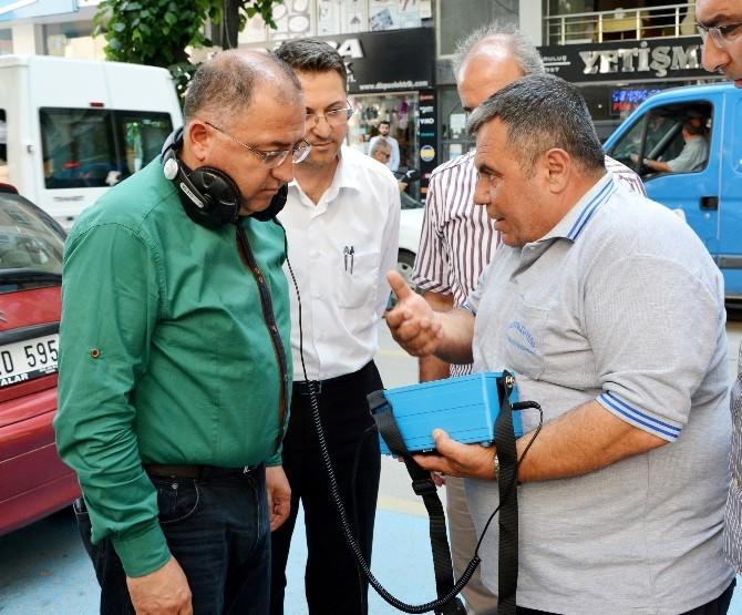 Başkan Salman Kayıp Kaçak Cihazını İnceledi