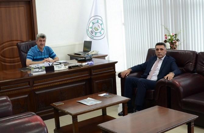 Orman Bölge Müdürü Şahin'den Yığılca Belediye Başkanı Yiğit'e Ziyaret