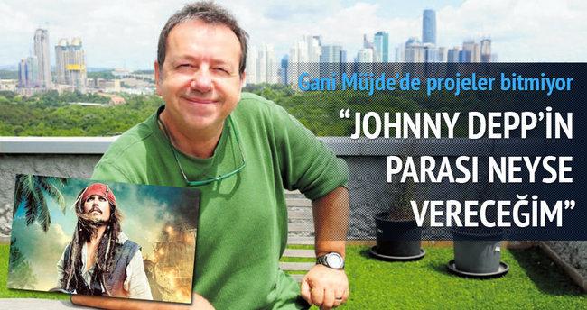 'Johnny Depp'in parası neyse vereceğim'