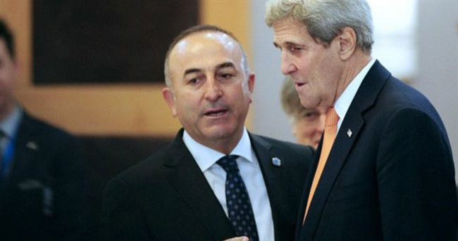 Çavuşoğlu-Kerry arasında kritik görüşme