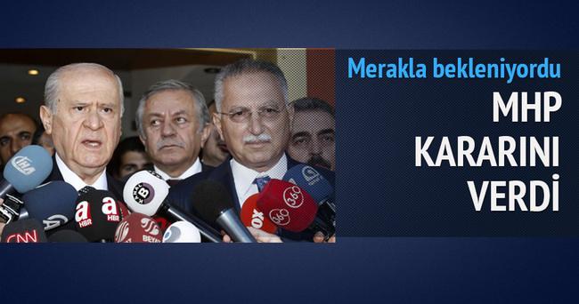 MHP'li İhsanoğlu, HDP'yi ziyaret etmeyecek!