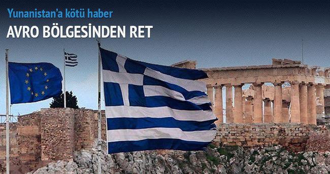Avro bölgesinden Yunanistan'a ret