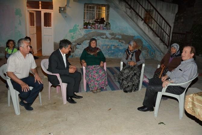 Kaymakam Ve Belediye Başkanından Fakir Ailelere Ziyaret