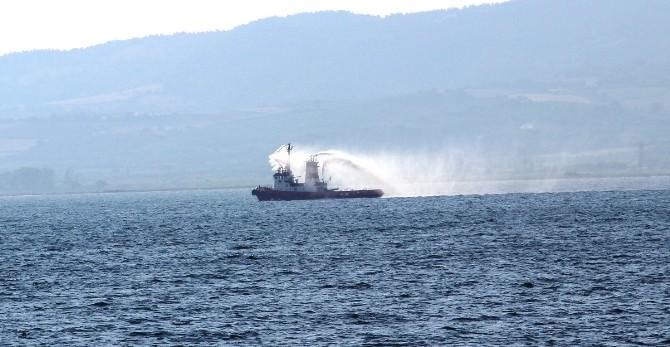 Gemi Kazası Sonrası Mazot Kokusu Paniği
