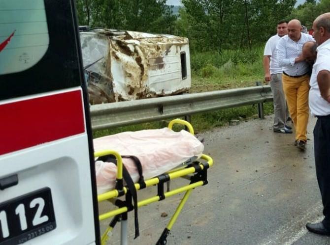 Uşak'taki Kazada Ölü Sayısı İkiye Yükseldi