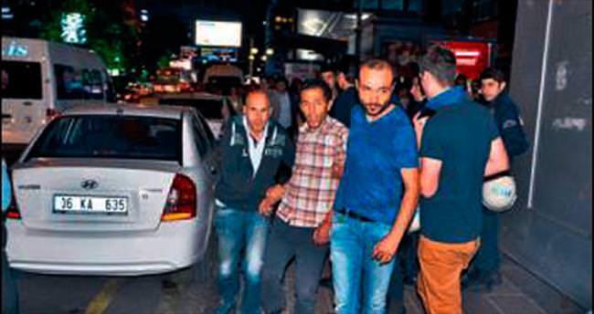7 eylemci gözaltına alındı