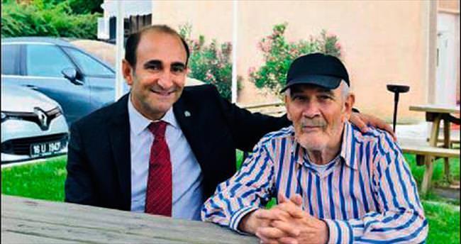 Başkan Edebali yaşlıları unutmadı