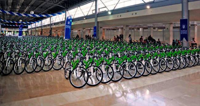 Binlerce öğrenciye bisiklet hediye