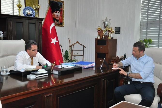 Balıkesir Milletvekili Ahmet Akın Edremit Belediyesi Ve Antandros Antik Kenti'ni Ziyaret Etti