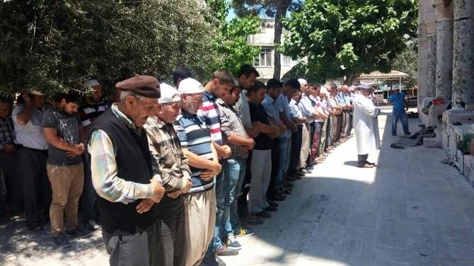Mut'ta Uygur Türkleri İçin Gıyabi Cenaze Namazı Kılındı