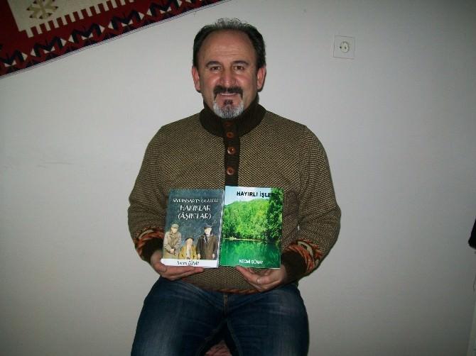 Yazar Günay'ın 2 Kitabı Yayınlandı