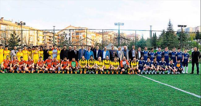 Mahalleler arası futbol turnuvası sona erdi