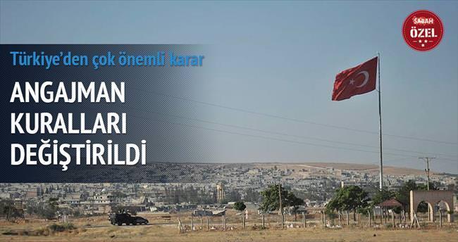 Türkiye, DAEŞ'e angajman uygulayacak