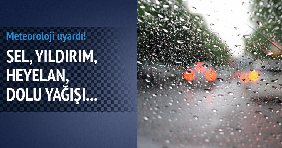 Meteoroloji'den 5 günlük hava durumu tahmini!
