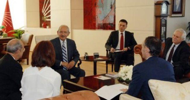 Kılıçdaroğlu İtalyan Büyükelçiyle görüştü