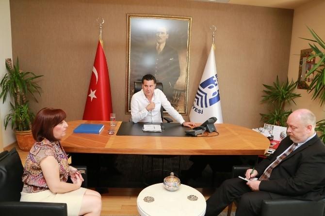 ABD'li Müsteşardan Başkan Kocadon'a Ziyaret