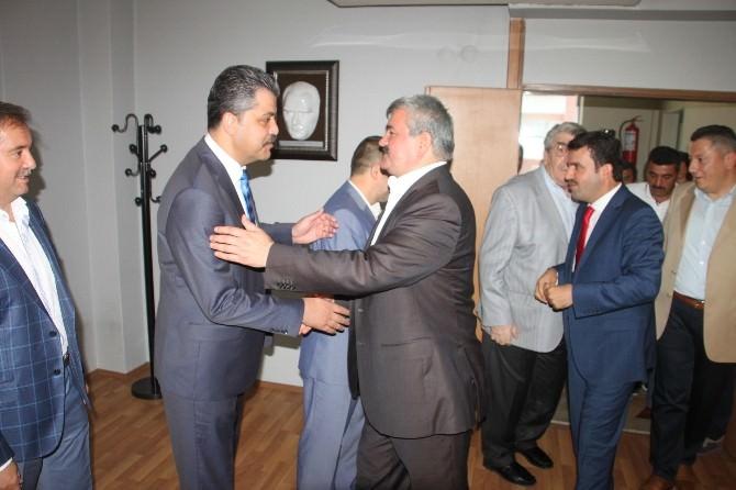 Çaturoğlu TSO Başkanı Tetiker Ve Yönetimini Ziyaret Etti