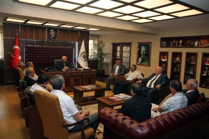 Alevi Kültür Dernekleri'nden Başkan Yaşar'a Ziyaret