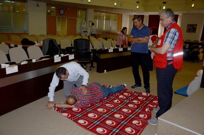 Belediye Personeline İlk Yardım Eğitimi