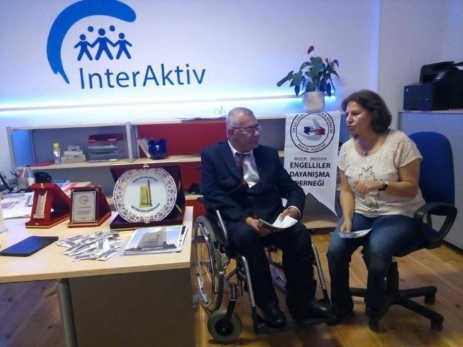Bozüyük Engelliler Derneği Başkanı Çelik'in Almanya Ziyareti