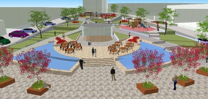 Serinhisar Meydan Projesi Devam Ediyor