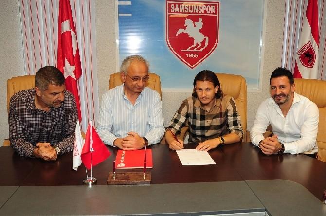 Samsunspor'da Mustafa Sevgi İle 2 Yıllık Sözleşme İmzalandı