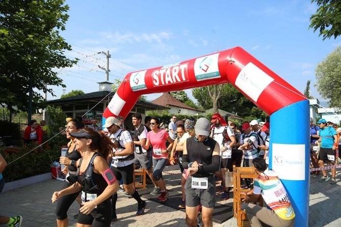 Ultra Sapanca Dağ Koşusu Performansları Takdir Topladı