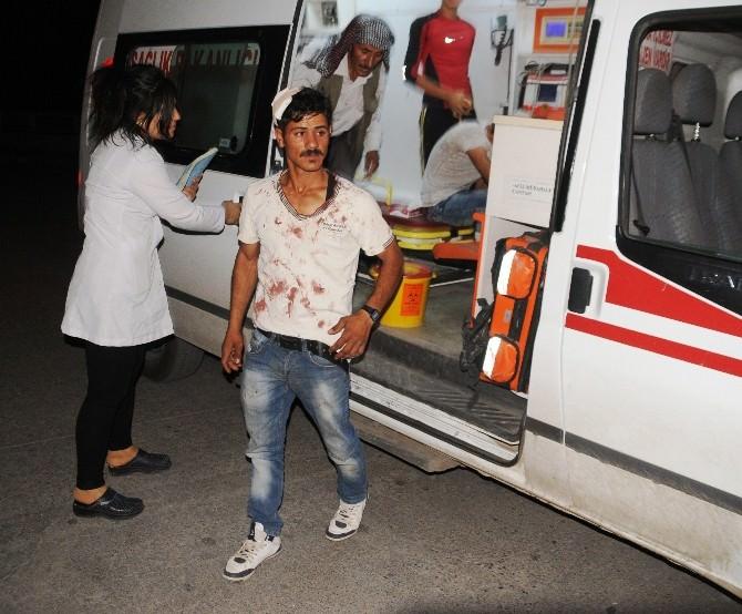 Şırnak'ta Taşlı Sopalı Kavga: 5 Yaralı