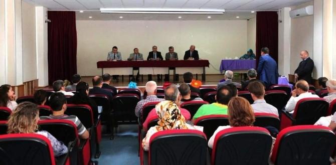 Amasya'da Eğitim-öğretim Yılı Toplantıda Değerlendirildi