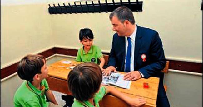 Buca'da okullar bakıma alınıyor