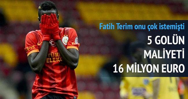 5 golün maliyeti 16 milyon!