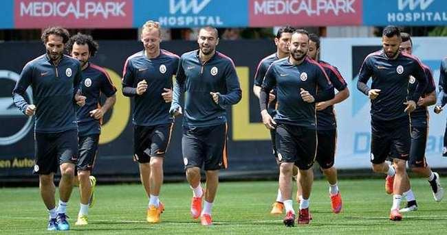 Galatasaray yarın topbaşı yapacak